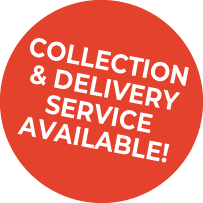 Collection and Delivery Service Available!